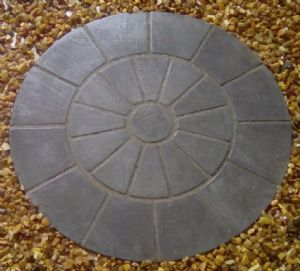Large Paved Circle
